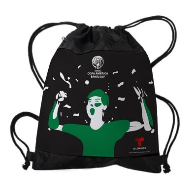 Copa América Brasil 2019 Fan Drawstring Bag-Shop Telemundo