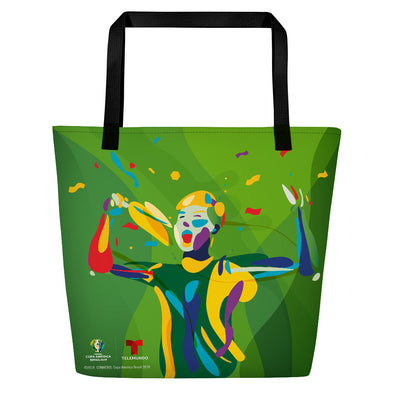 Copa América Brasil 2019 Fan Tote Bag-Shop Telemundo