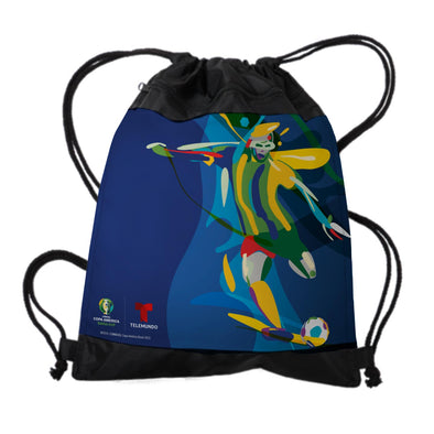 Copa América Brasil 2019 Player Drawstring Bag-Shop Telemundo