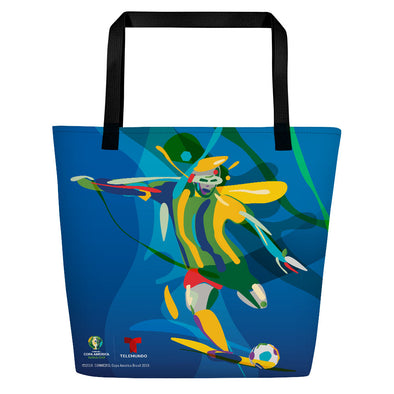 Copa América Brasil 2019 Player Tote Bag-Shop Telemundo