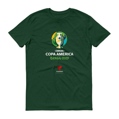 Copa América Brasil 2019 Men's Short Sleeve T-Shirt-Shop Telemundo