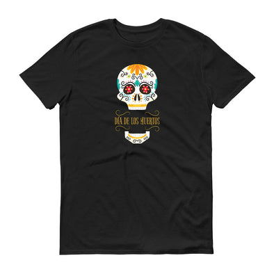 Sugar Skull Adult Short Sleeve T-Shirt