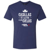 El Señor de los Cielos Casillas Men's Tri-Blend Short Sleeve T-Shirt-Shop Telemundo