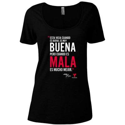 La Reina del Sur Phrase Women's Relaxed Scoop Neck T-Shirt