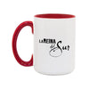 La Reina del Sur Logo 15oz White/Red Mug-Shop Telemundo