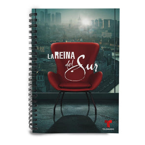 La Reina Del Sur Red Chair Notebook
