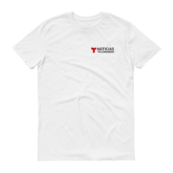 Noticias Telemundo Logo Men's Short Sleeve T-Shirt
