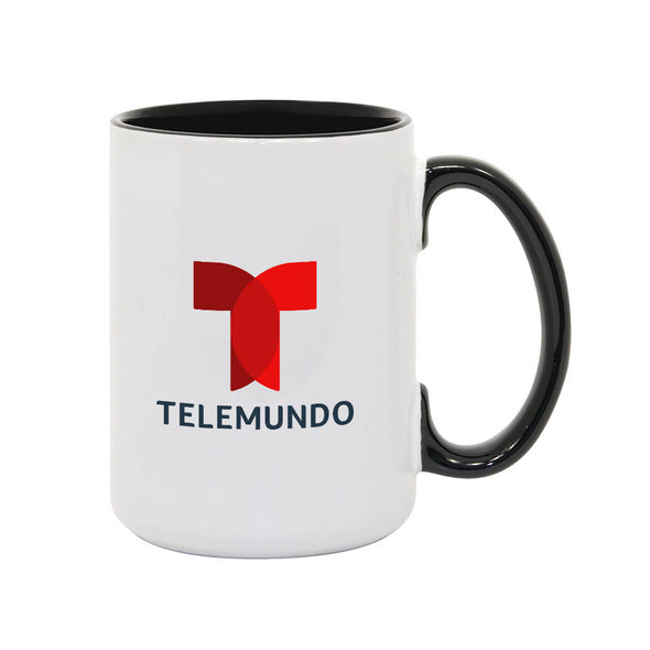 Noticias Telemundo 15oz White/Black Mug