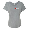 Noticias Telemundo Logo Women's Tri-Blend Dolman T-Shirt