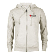 Noticias Telemundo Logo Lightweight Zip Up Hooded Sweatshirt