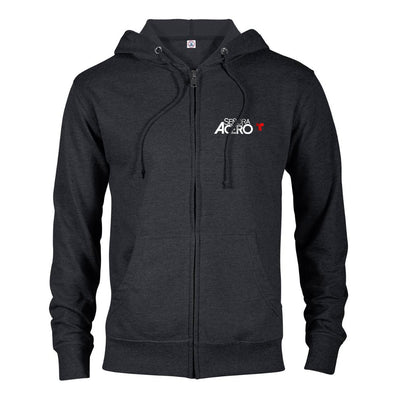 Señora Acero Lightweight Zip-Up Hooded Sweatshirt