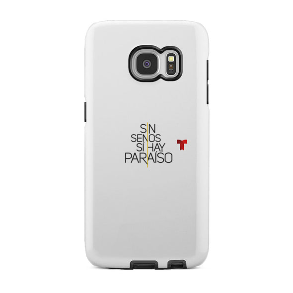 Sin Senos Sí Hay Paraíso Logo Tough Phone Case
