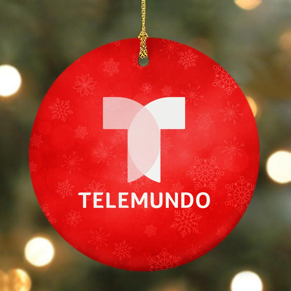 Noticias Telemundo Double-Sided Ornament