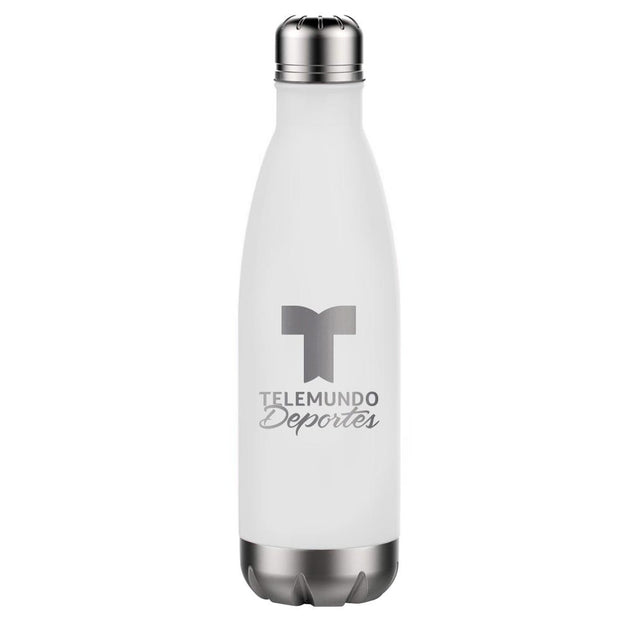 Telemundo Deportes 17 oz Stainless Steel Slim Water Bottle
