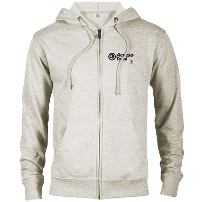 Acceso Total Lightweight Zip Up Hooded Sweatshirt