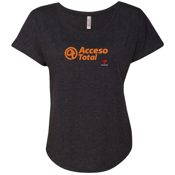 Acceso Total Women's Tri-Blend Dolman T-Shirt