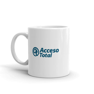 Acceso Total White Mug