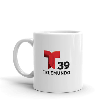 Telemundo Dallas White Mug
