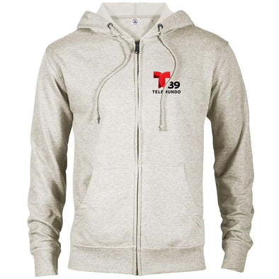Telemundo Dallas Lightweight Zip Up Hooded Sweatshirt