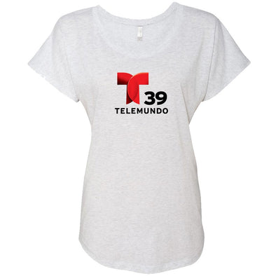 Telemundo Dallas Women's Tri-Blend Dolman T-Shirt