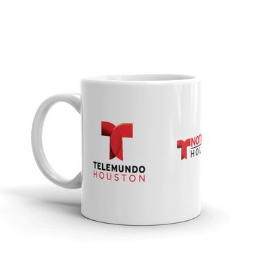 Telemundo Houston White Mug