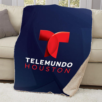 Telemundo Houston Sherpa Blanket