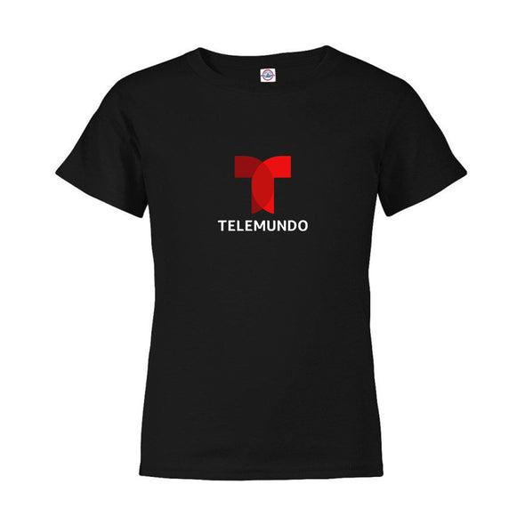 Telemundo Logo Kids Short Sleeve T-Shirt