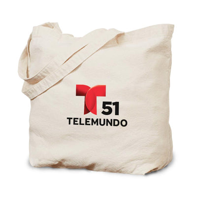 Telemundo Miami Canvas Tote Bag