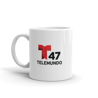 Telemundo 47 New York White Mug
