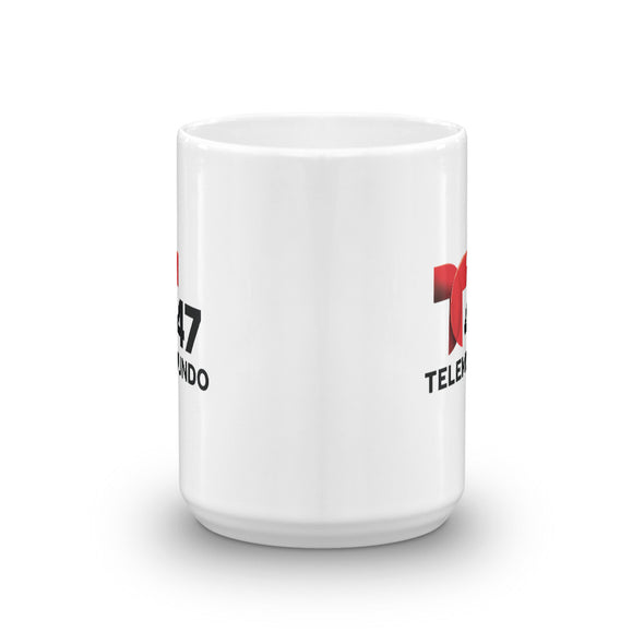 Telemundo New York White Mug