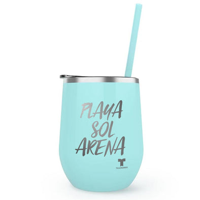Summer Vibes Wine Tumbler