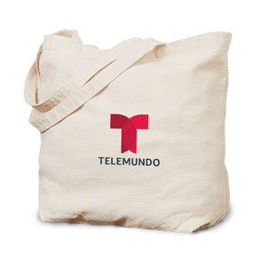 Telemundo Logo Canvas Tote Bag