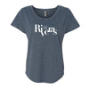 The Riveras Logo Women's Tri-Blend Dolman T-Shirt