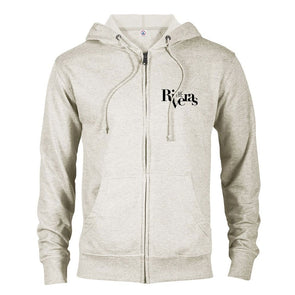 The Riveras Logo Lightweight Zip Up Hooded Sweatshirt