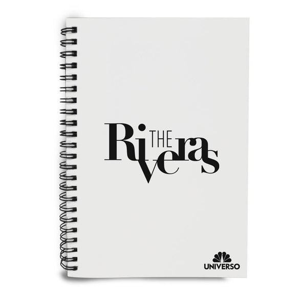The Riveras Logo Notebook