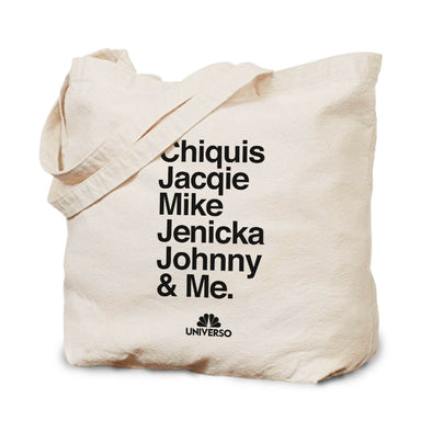 The Riveras Cast Names Canvas Tote Bag