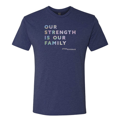 The Riveras Strength (English) Men's Tri-Blend Short Sleeve T-Shirt