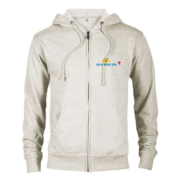 Un Nuevo Día Lightweight Zip Up Hooded Sweatshirt