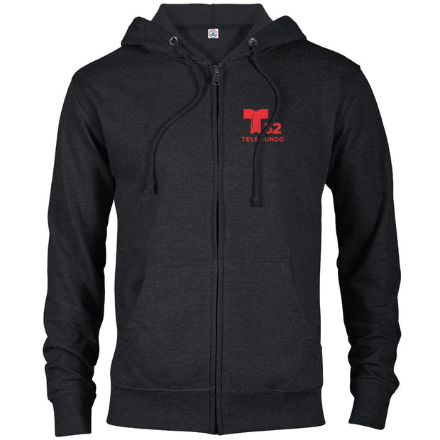 Telemundo Los Angeles Lightweight Zip Up Hooded Sweatshirt