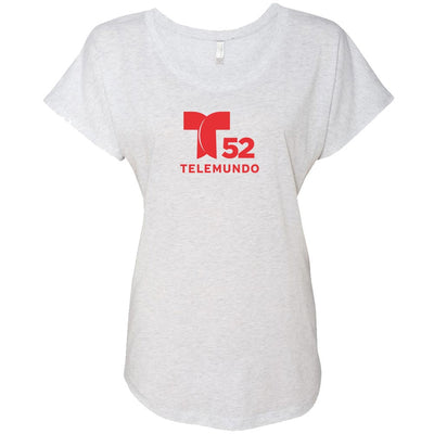 Telemundo Los Angeles Women's Tri-Blend Dolman T-Shirt