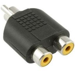 RCA to RCA Audio Adapters