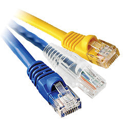 Standard Length (Cat 5E) Network Patch Cables