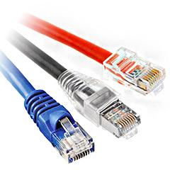 UTP (Unshielded Twisted Pair) Cat 6 Network Patch Cables
