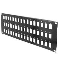 Unloaded Patch Panels