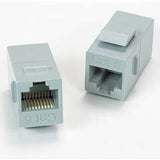 Keystone Style Inline Coupler, Fits Wall-Plate or Unloaded Patch Panel - Deep Surplus