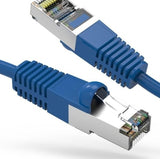 Cat 7 Ethernet Patch Cables, Blue - Deep Surplus