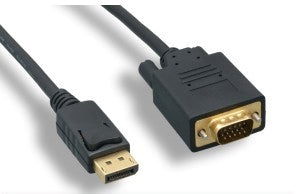 VGA to DisplayPort