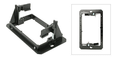 Single Gang Low Voltage Wall Mounting Bracket (Mud Ring)
