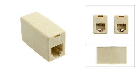 Telephone Female to Female Coupler - Deep Surplus