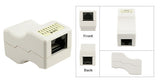 Cat 6 White Unshielded Inline Ethernet Coupler